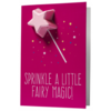 Sprinkle a little Fairy Magic Blaster Card 40g